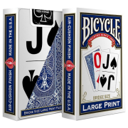 Покерные карты Bicycle Large Print