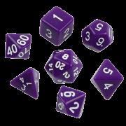 Набор кубиков  d00, d4, d6, d8, d10, d12, d20