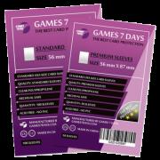 Протекторы для карт Games 7 Days 56x87