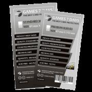 Протекторы для карт Games 7 Days 61x112